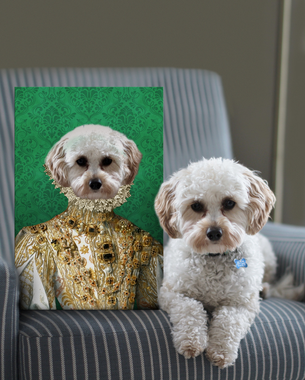 Buy Her Excellency a Custom Pet Portrait Print | Her Excellency