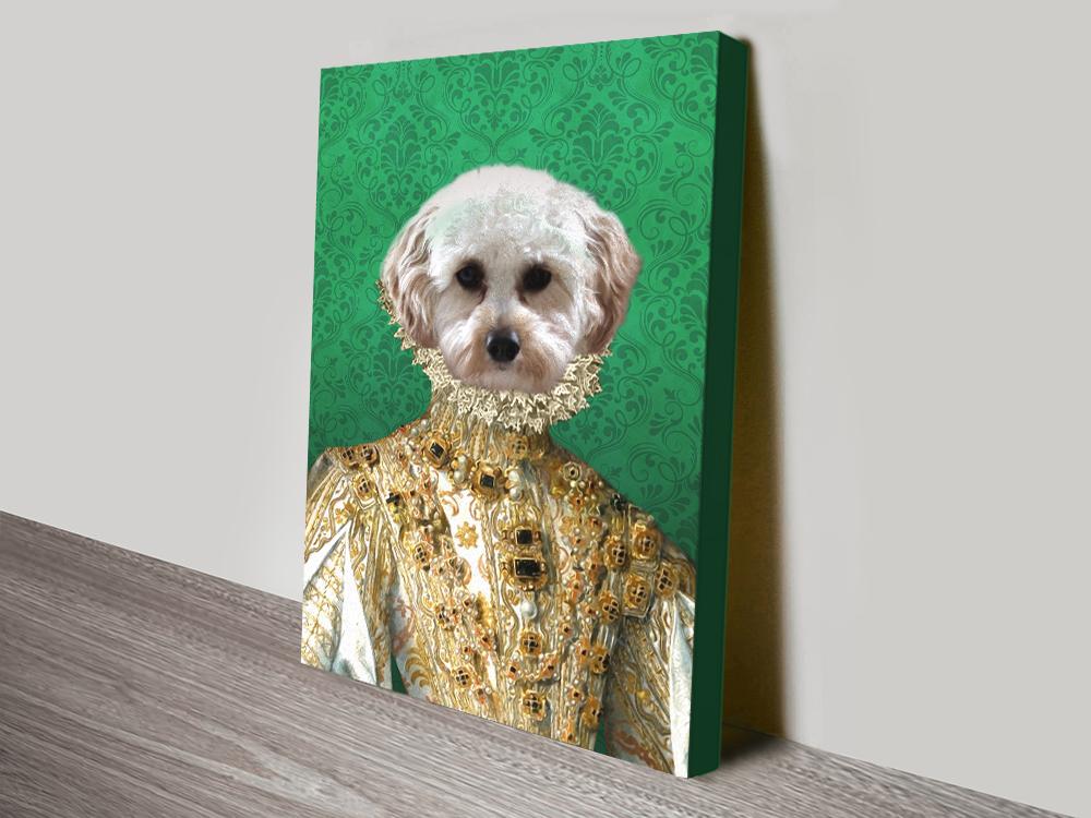 Buy Custom Pet Prints from Crown & Paws AU