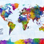 m2122-Watercolor-Map-of-the-World-Map-with-cities