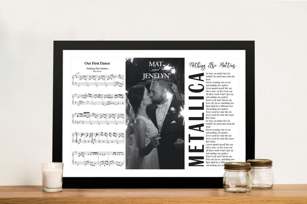 Our first dance wedding Framed Wall Art