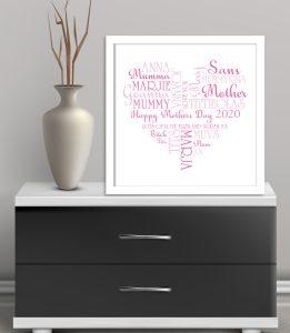 mothers day Framed art