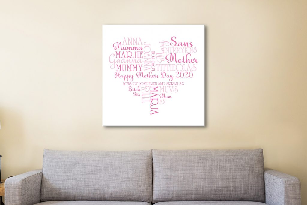 Mothers day Canvas Artwork