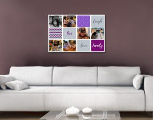 Colourful Collage Art Great Gifts for Mums AU