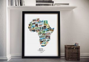 Map Photo Collages for Sale in our Online Gallery
