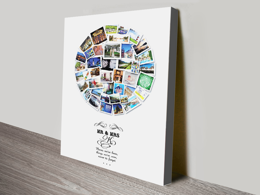 Personalised Photo Collages in a Choice of Shapes