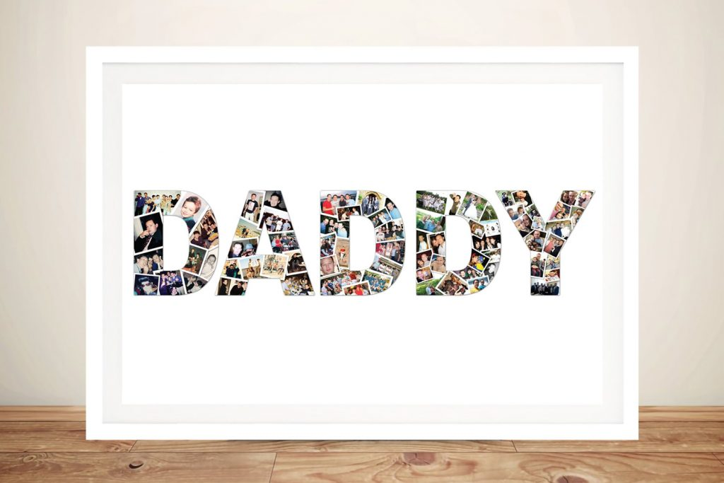 Framed Dad Photo Collage Cheap Online
