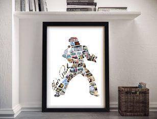 Framed Elvis Custom Photo Collage Artwork