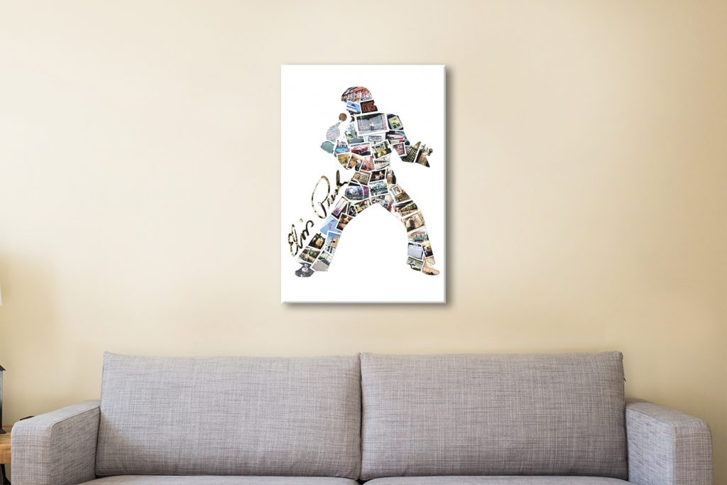 Elvis Collage Wall Art Great Gifts for Guys Online