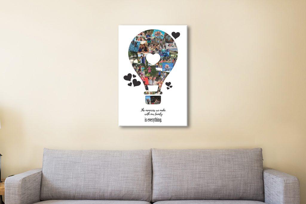 Hot Air Balloon Collage Unique Gift Ideas AU