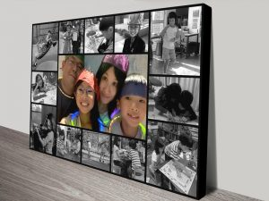 Unique Personalised Photo Collage Wall Art