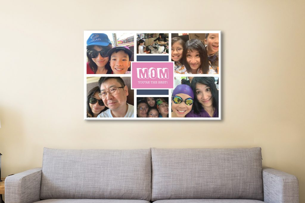 Ready to Hang Personalised Collages Cheap Online