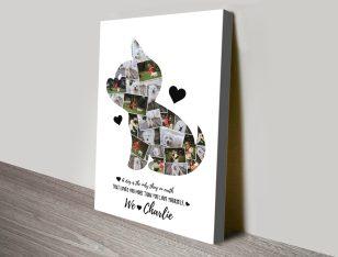 Buy a Dog Photo Collage Custom Print