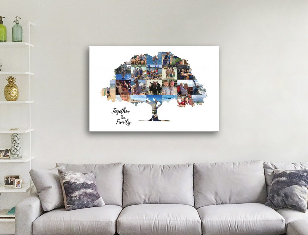 Family Tree Collage Quality Wall Art Online