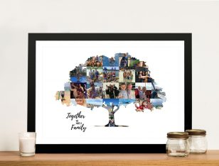 Family Tree Personalised Photo Collage