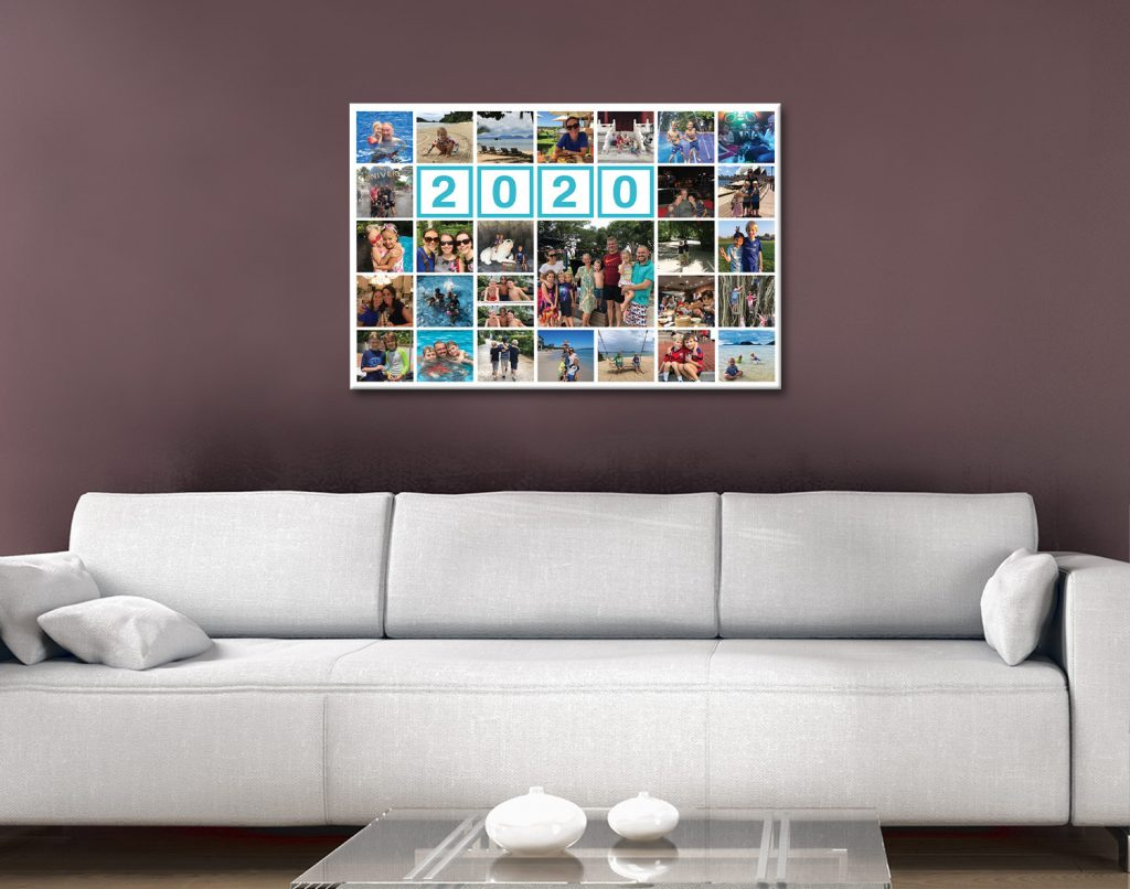 Family Photo Collage Template Design Your Own Art