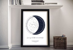 Unique Star Chart Wall Art for Sale Online
