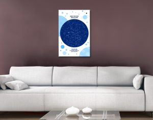 Custom Star Maps for All Occasions for Sale Online
