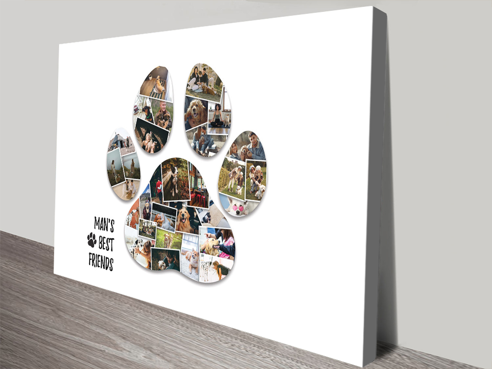 Personalised Paw Print Collage Great Gifts AU