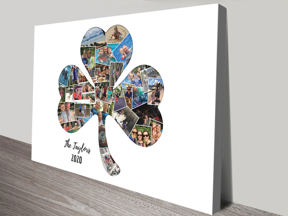 Four Leaf Clover Collage Unique Gifts Online