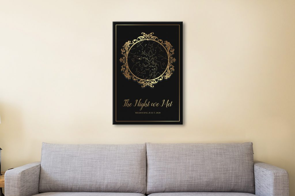 Buy a Vintage Style Gold Star Chart Great Gifts AU