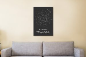 Affordable Personalised Star Maps Gift Ideas AU