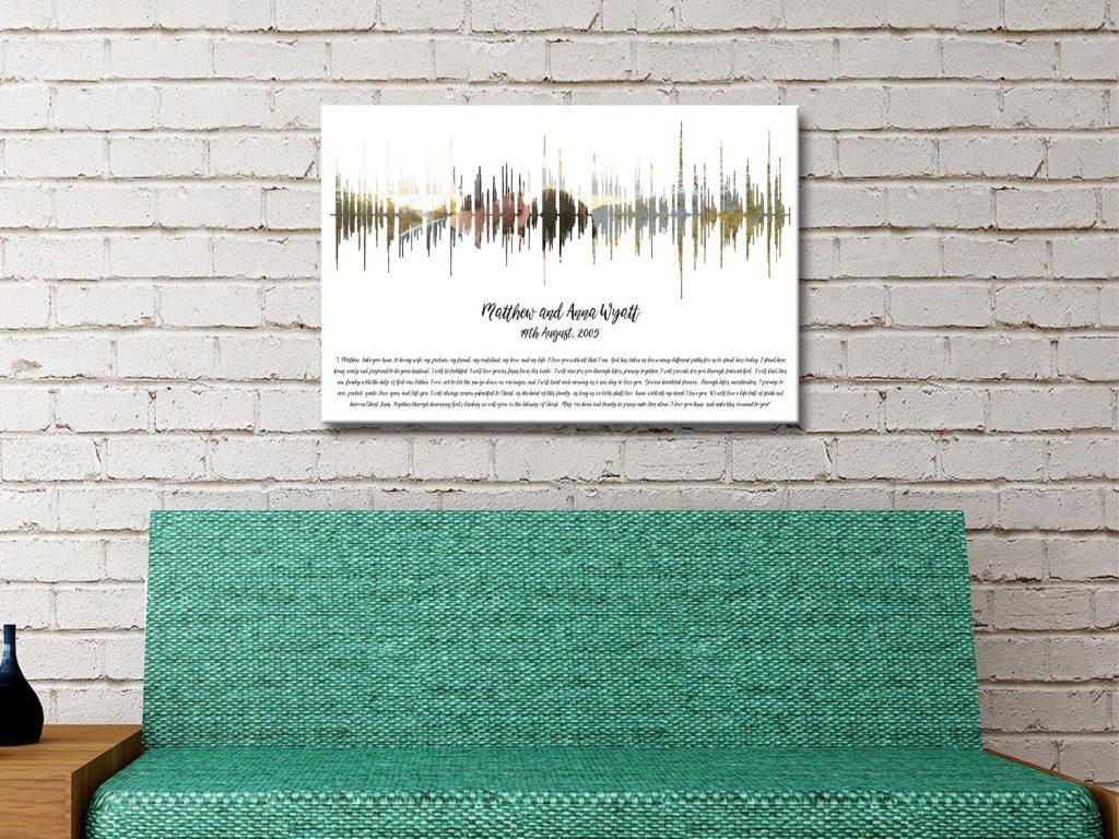 Affordable Photo Soundwave Art for Sale