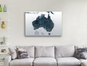 Affordable Personalised Maps Home Decor Ideas AU