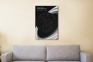 Ready to Hang Custom Star Maps for Sale Online