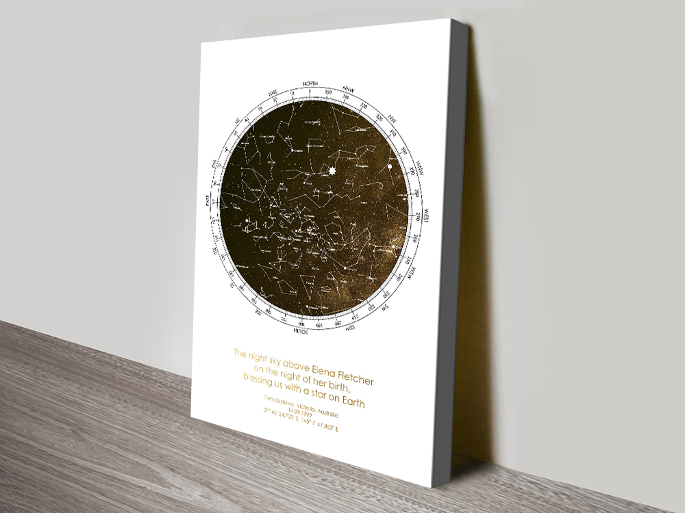 Affordable Personalised Bronze Star Chart