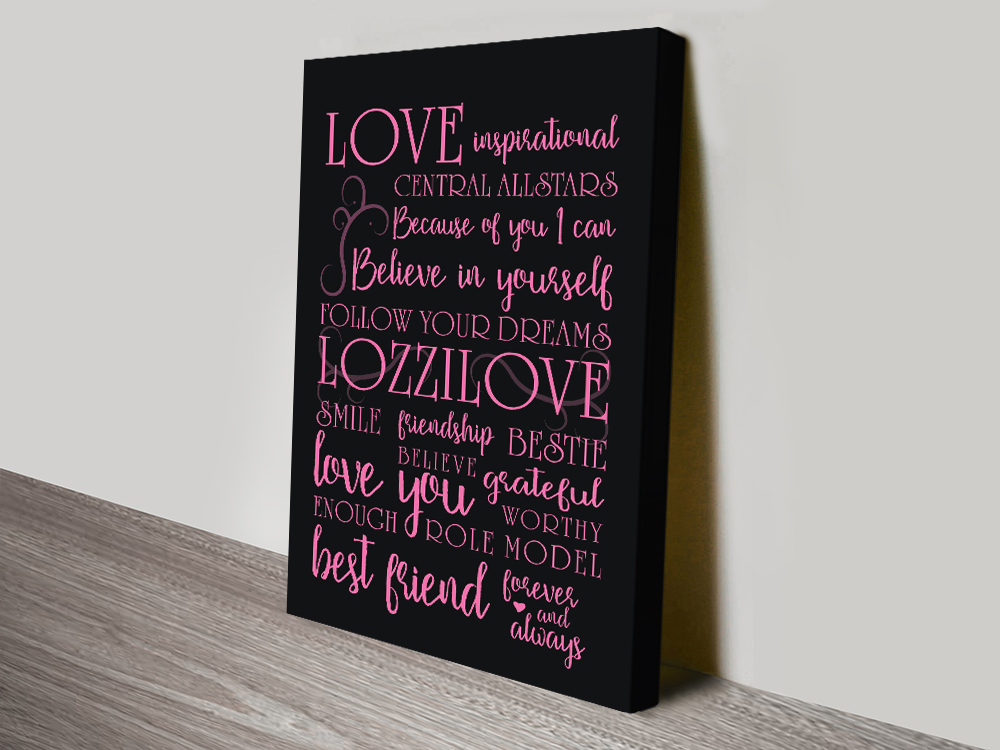 My Inspiration quote canvas-print canvas print | My Inspiration