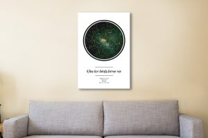 Two Hearts Affordable Star Maps for Sale Online