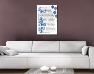 Ready to Hang Personalised Art Cheap Online