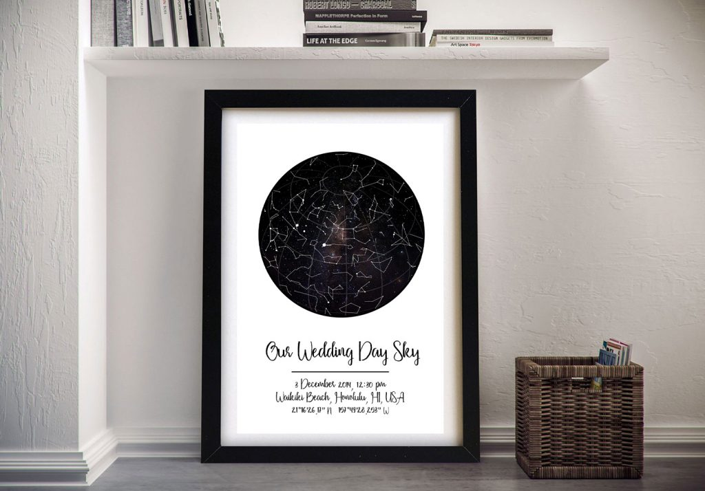 Framed Ready to Hang Star Charts Cheap Online