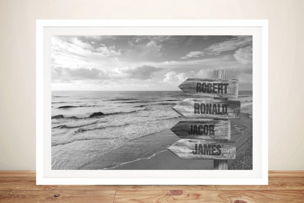 Beach Signpost Custom Art Unique Gifts Online