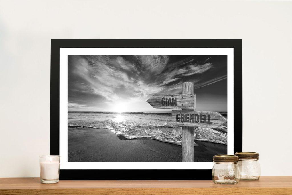 Framed Signpost Custom Prints Online Gallery Sale