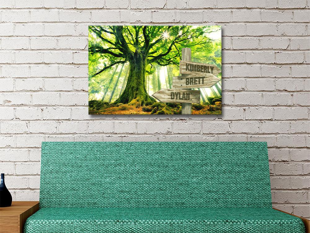 Affordable Oak Bespoke Art Great Gift Ideas AU
