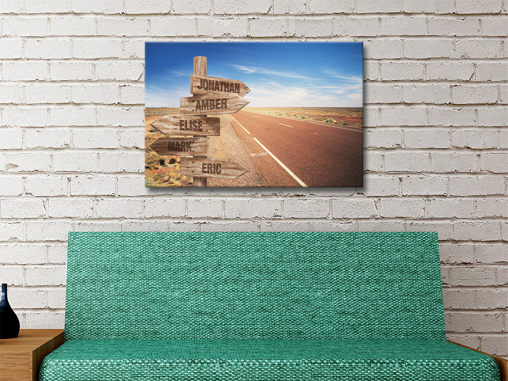 Affordable Retro Signpost Prints Wedding Gifts AU