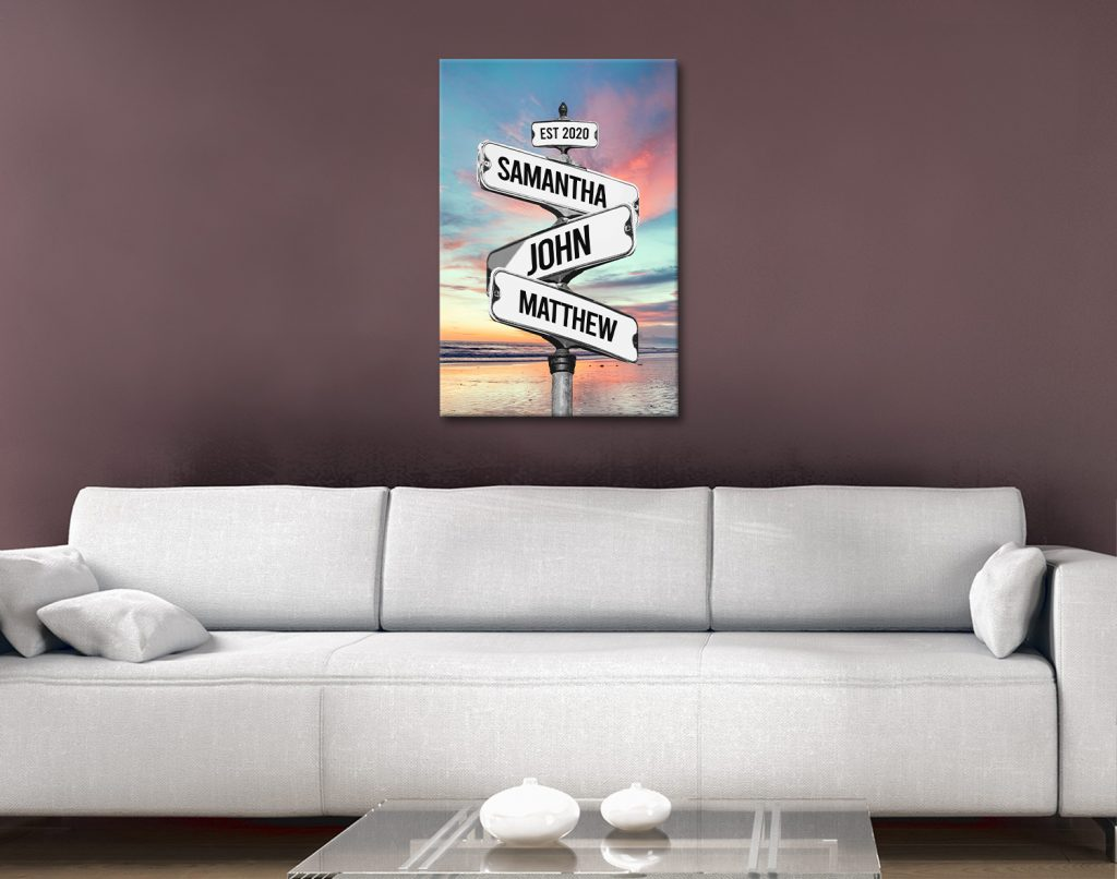 Signpost Beach Art Great Gifts for Mums Online