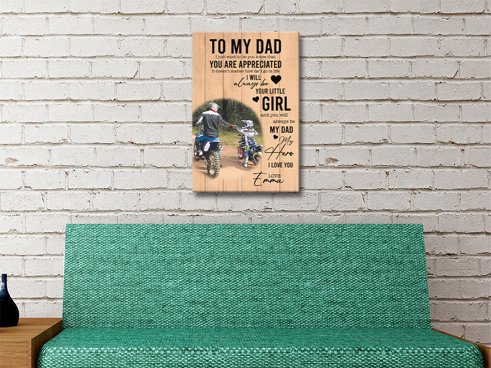 Fathers Day Artwork with Photo for Sale Online