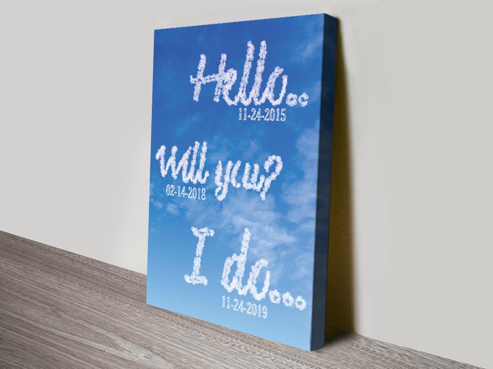 Custom Art Romantic Gift Ideas Online
