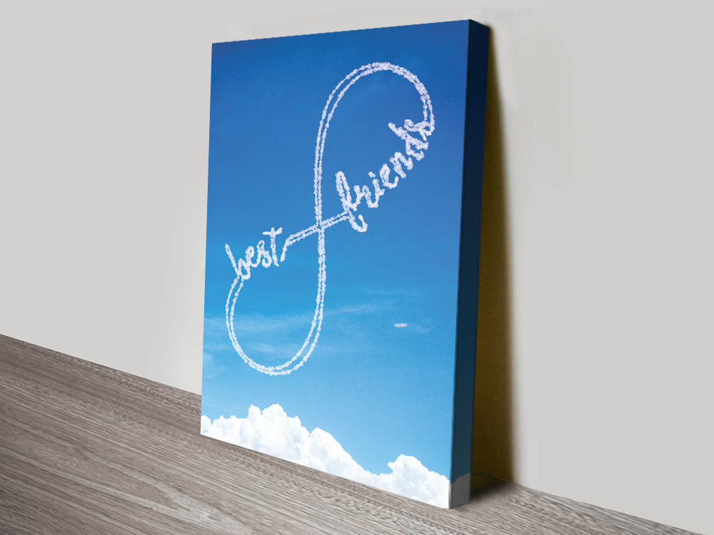 Friends Forever Written in the Clouds Art AU
