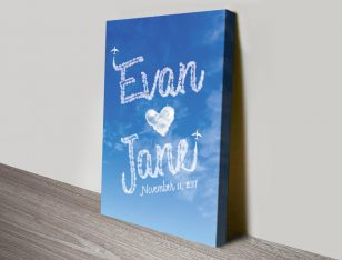 Names in the Clouds Bespoke Romantic Gifts