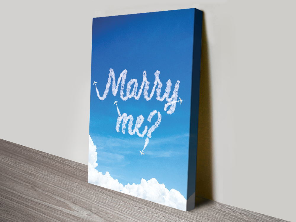 Marry Me? Personalised Wedding Gifts Online