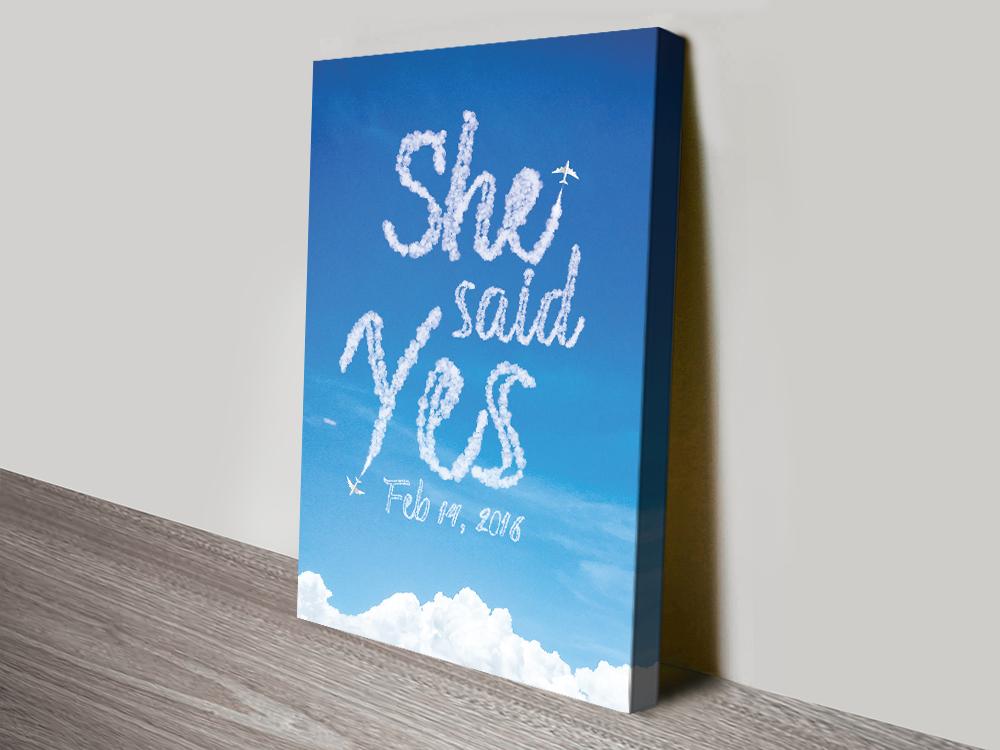 Wedding Gift Ideas Custom Wall Art AU