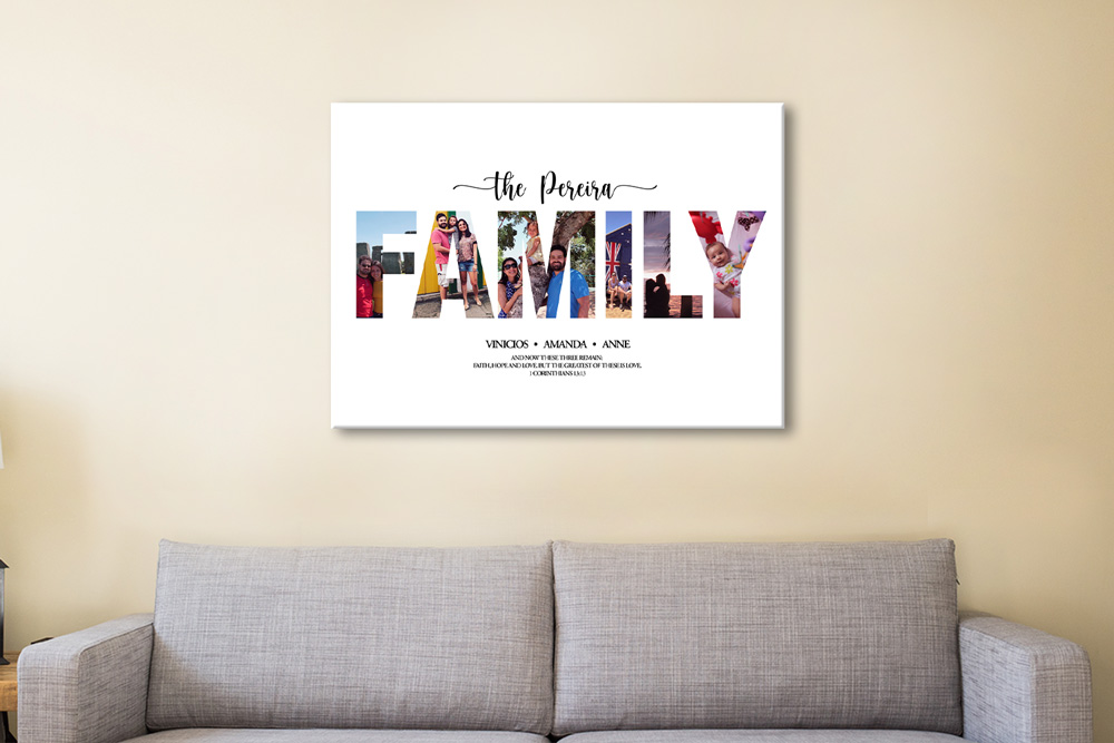 Affordable Custom Family Photo Collage